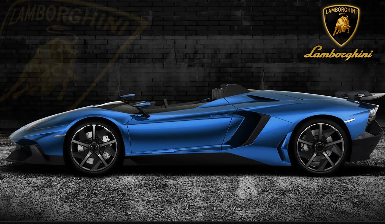 Lamborghini Aventador Blue Wallpapers