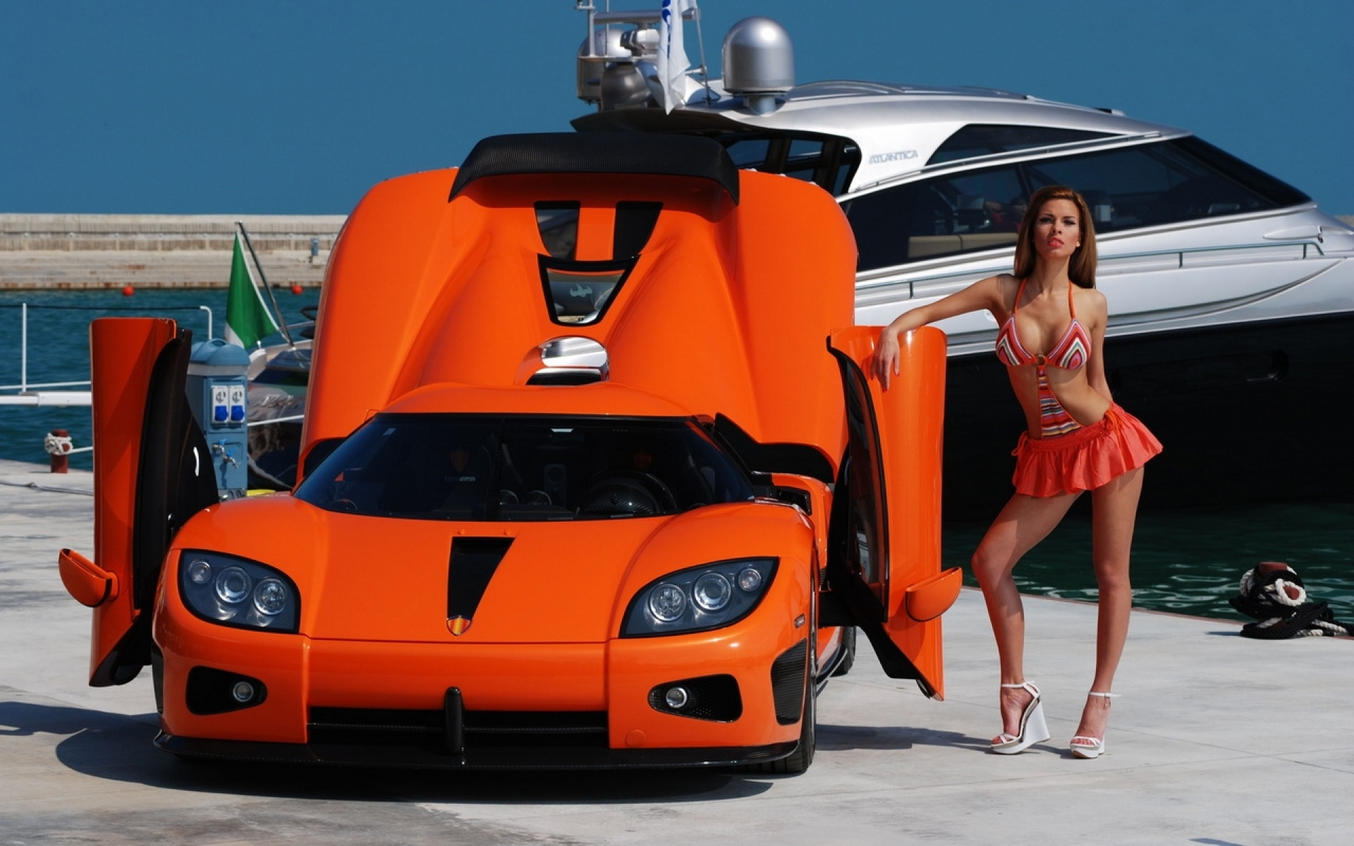 Cars And Girls Vehicles Wallpaper Free