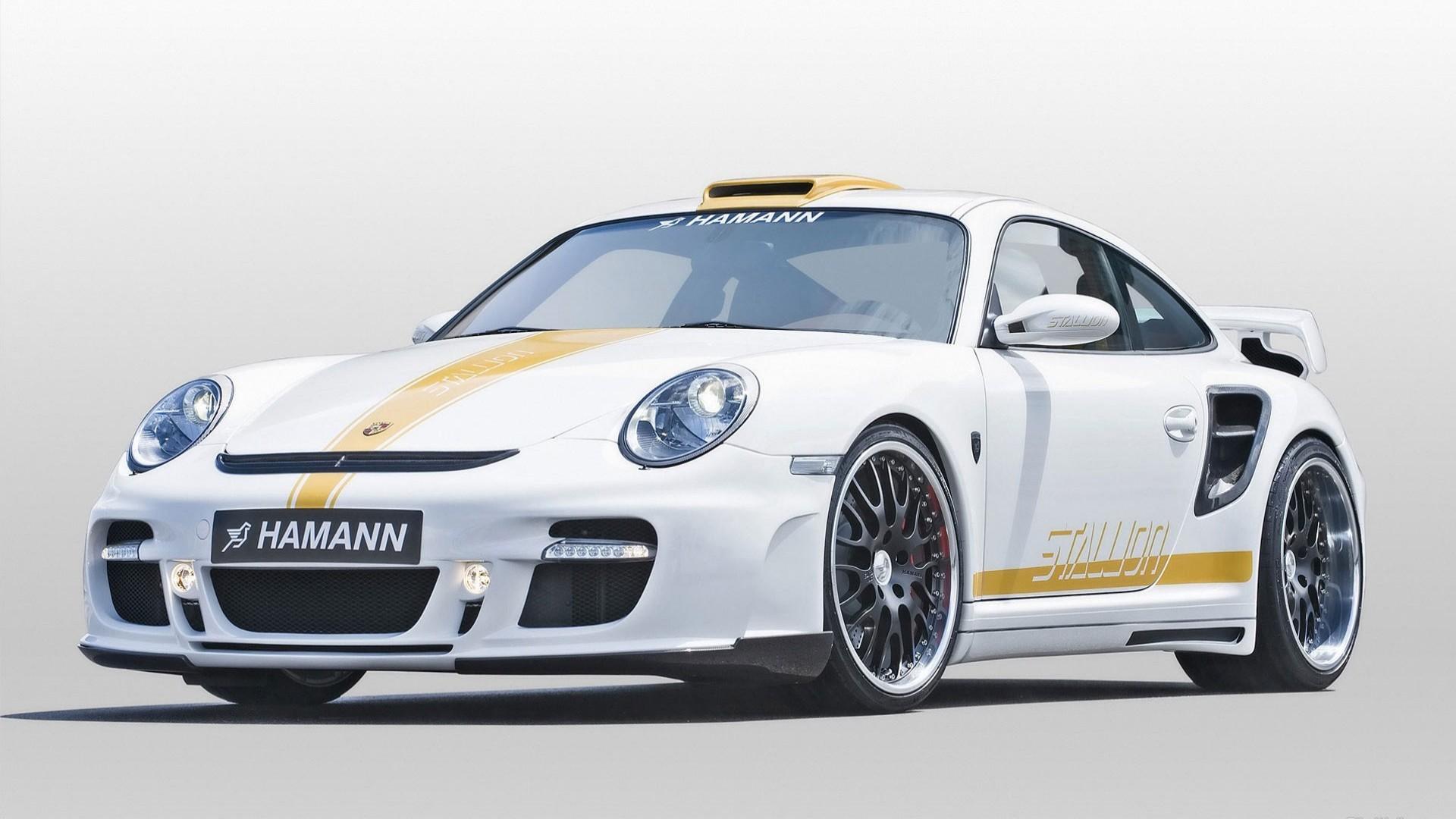 Hamman Porsche Car Wallpaper