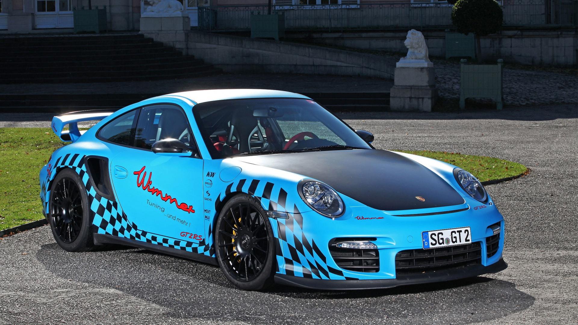Porsche 911 Modified Car Wallpaper 1920x1080 |