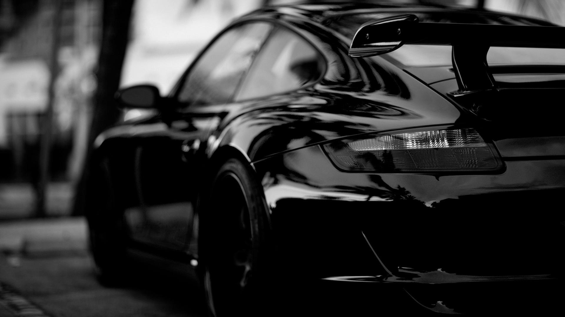 Porsche in Black