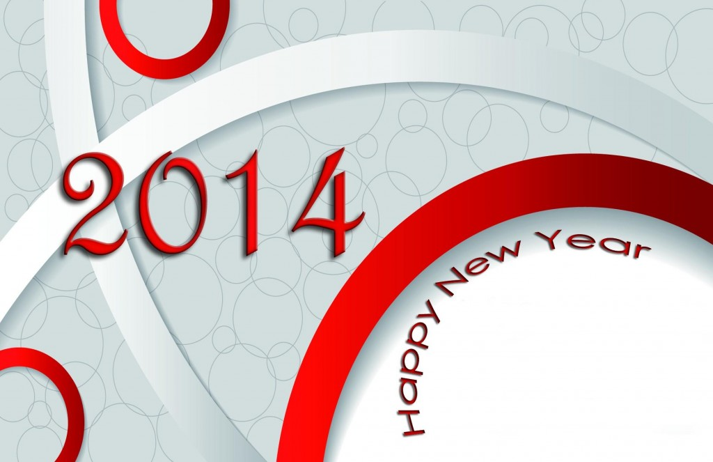 2014 New Year 3D Wallpaper
