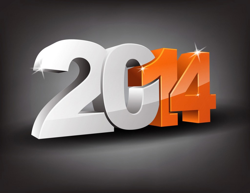 2014 New Year HD Wallpaper