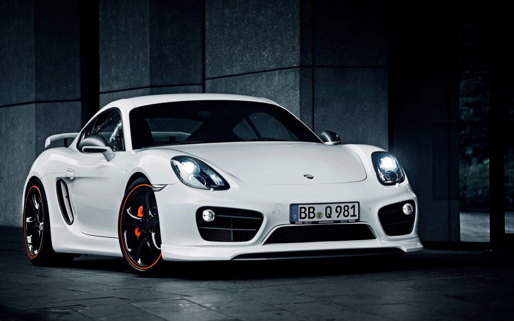 2014 Techart Porsche Cayman Wide Car