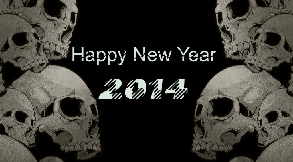 Horror New Year 2014 HD Wallpaper