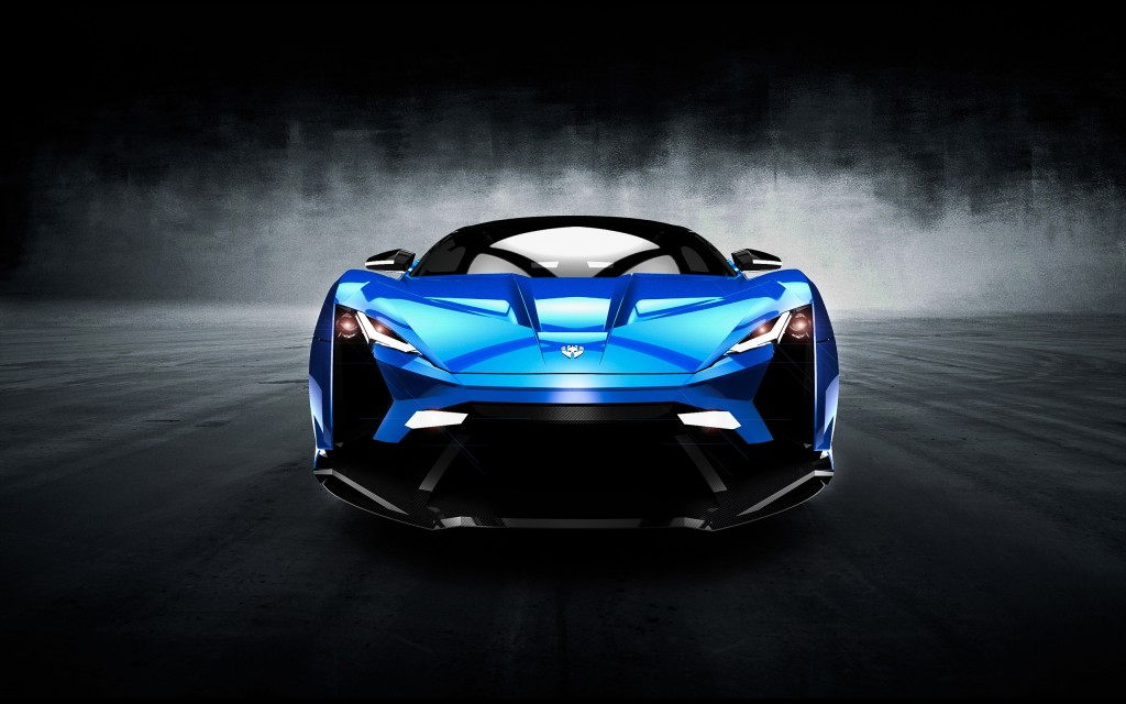 Lykan Super Sports Car 2014 Wallpapers