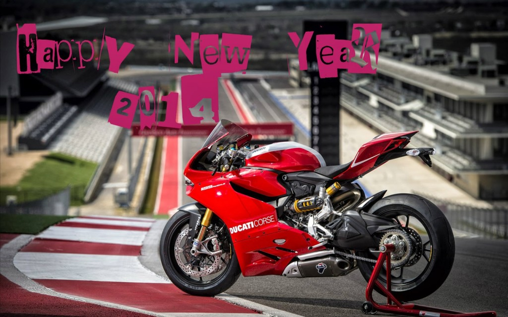 New Year 2014 Bikes HD Wallpaper
