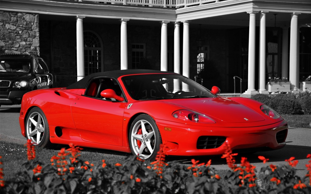 Red Sport Car Wallpapers