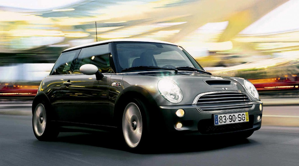Silver Mini Cooper HD Wallpaper