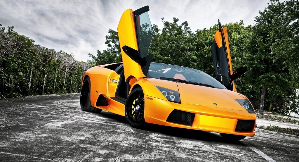 Yellow Lamborghini HD Wallpaper