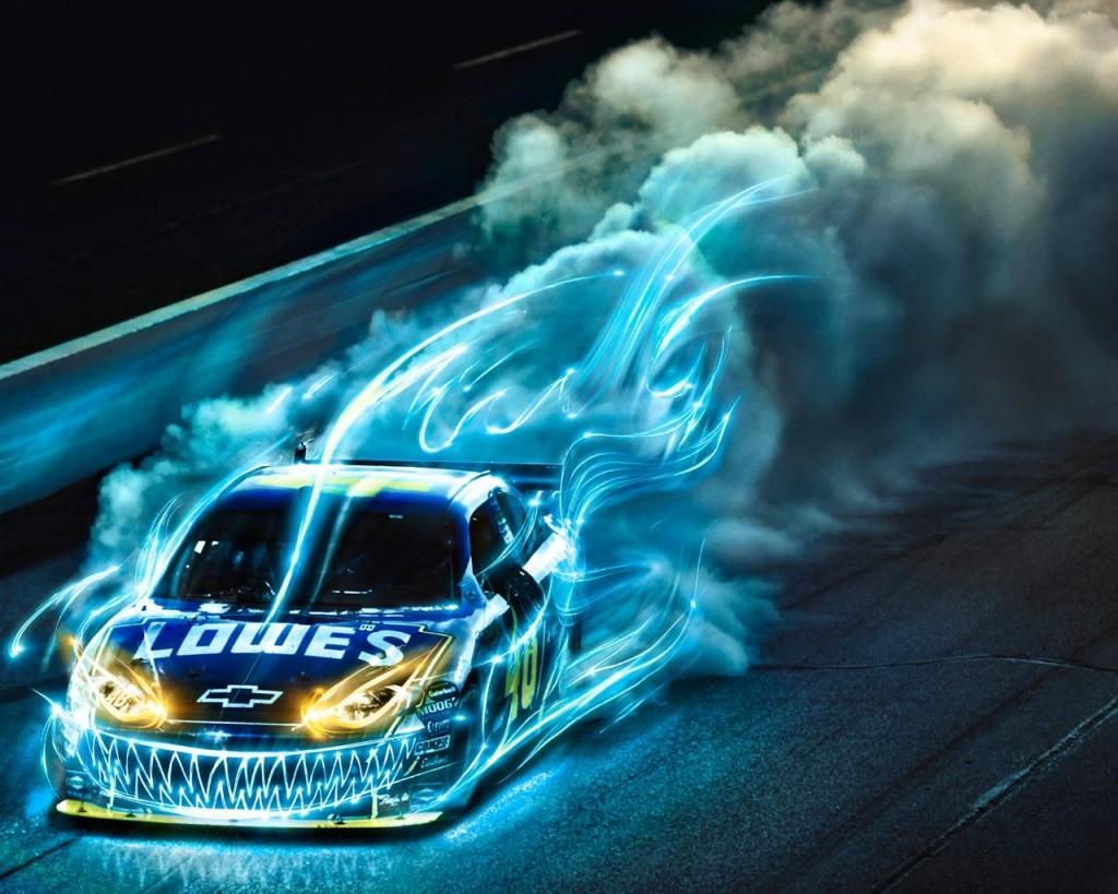 Abstract Racing Sports Car HD Wallpaper
