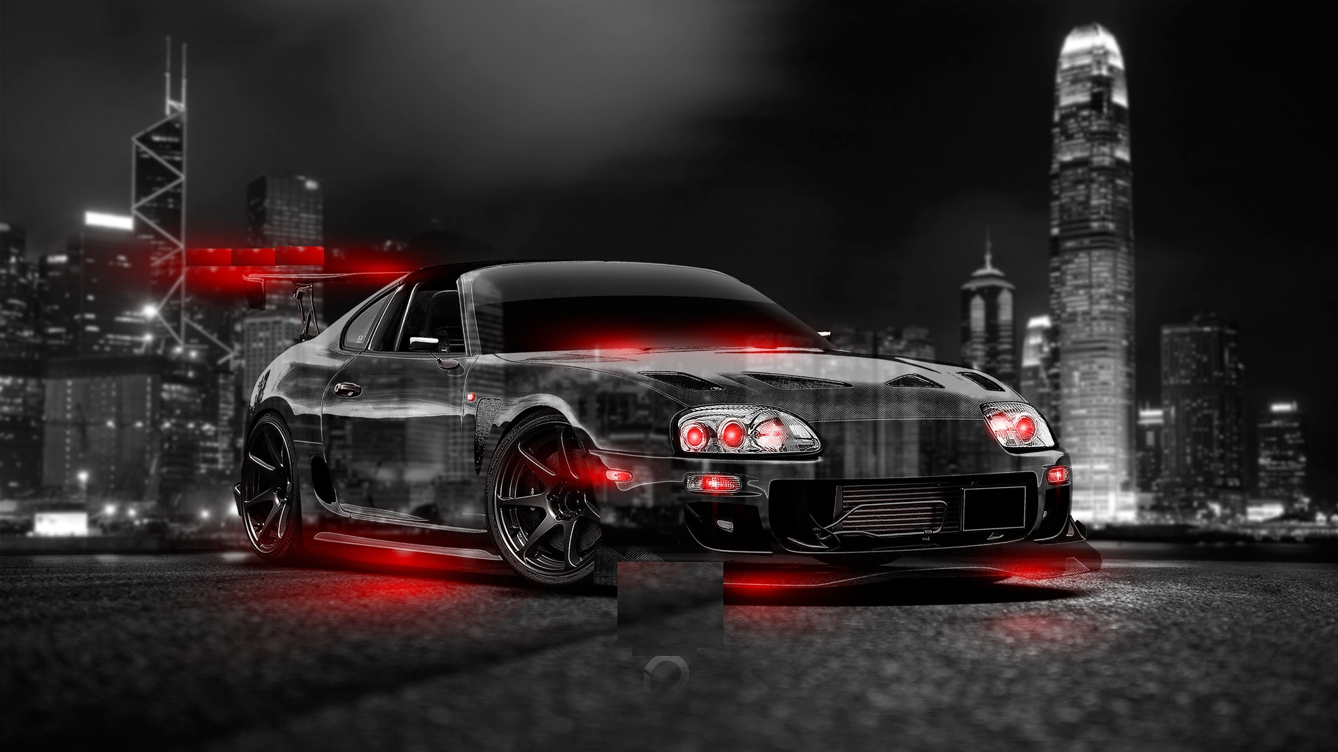 Abstract Toyota Supra Hd Wallpaper My Site