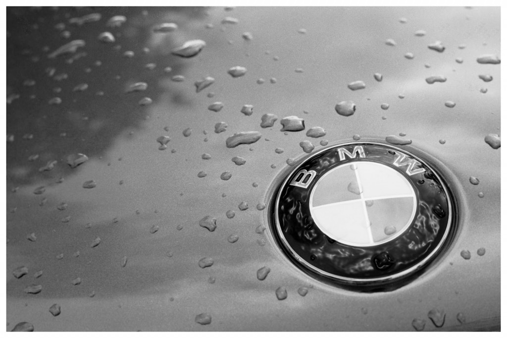 Bmw Rain Logo HD Wallpaper