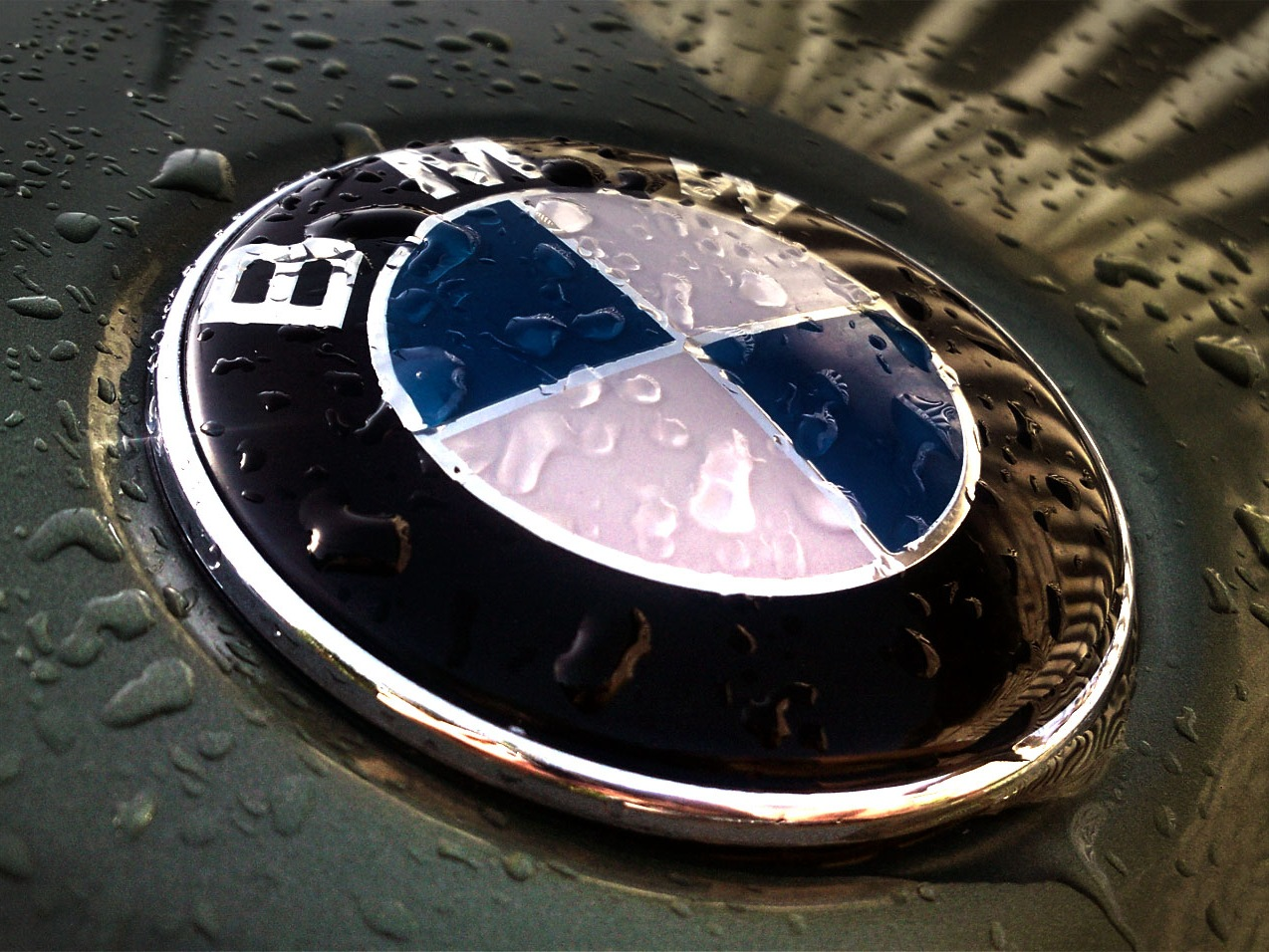bmw rain logo hd wallpaper |