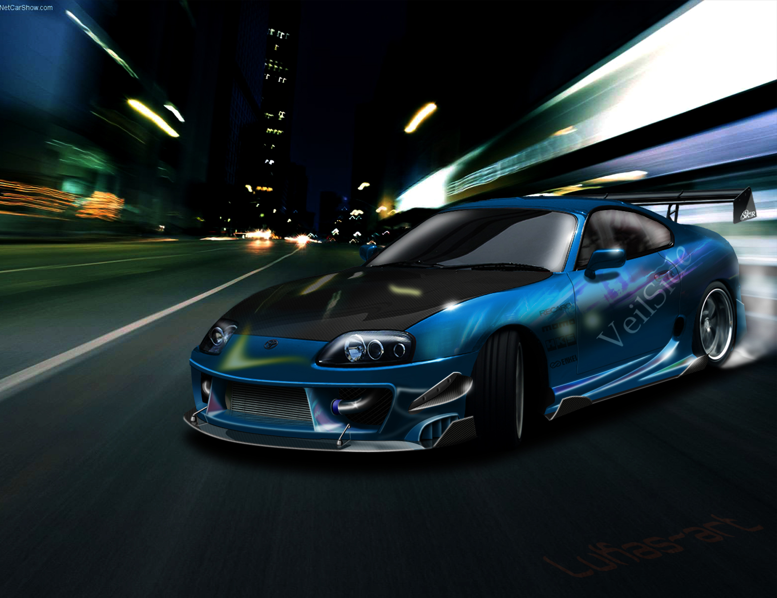 2016 Tundra Diesel >> Dashing Blue Toyota Supra HD Wallpaper - My Site