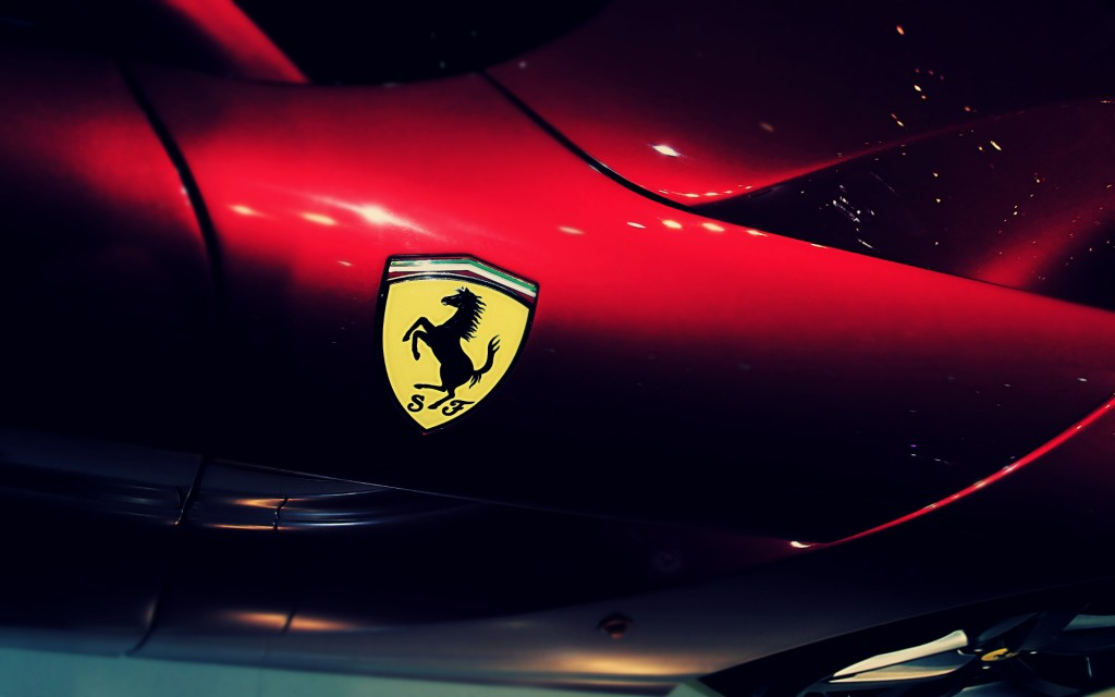Ferrari Logo HD - Wallpaper.