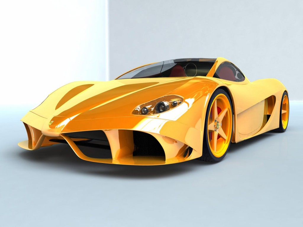 Modified Ferrari HD Wallpaper