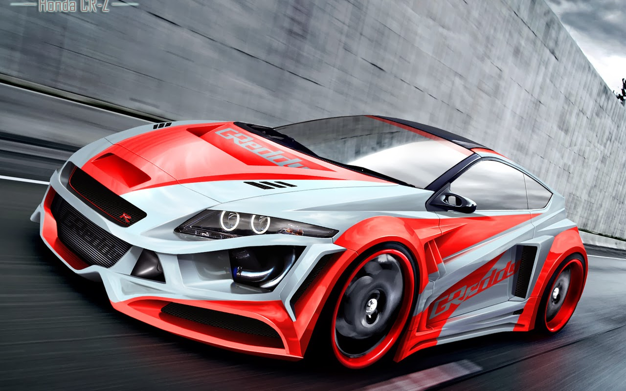 Modified Honda Cr Z Hd Wallpaper