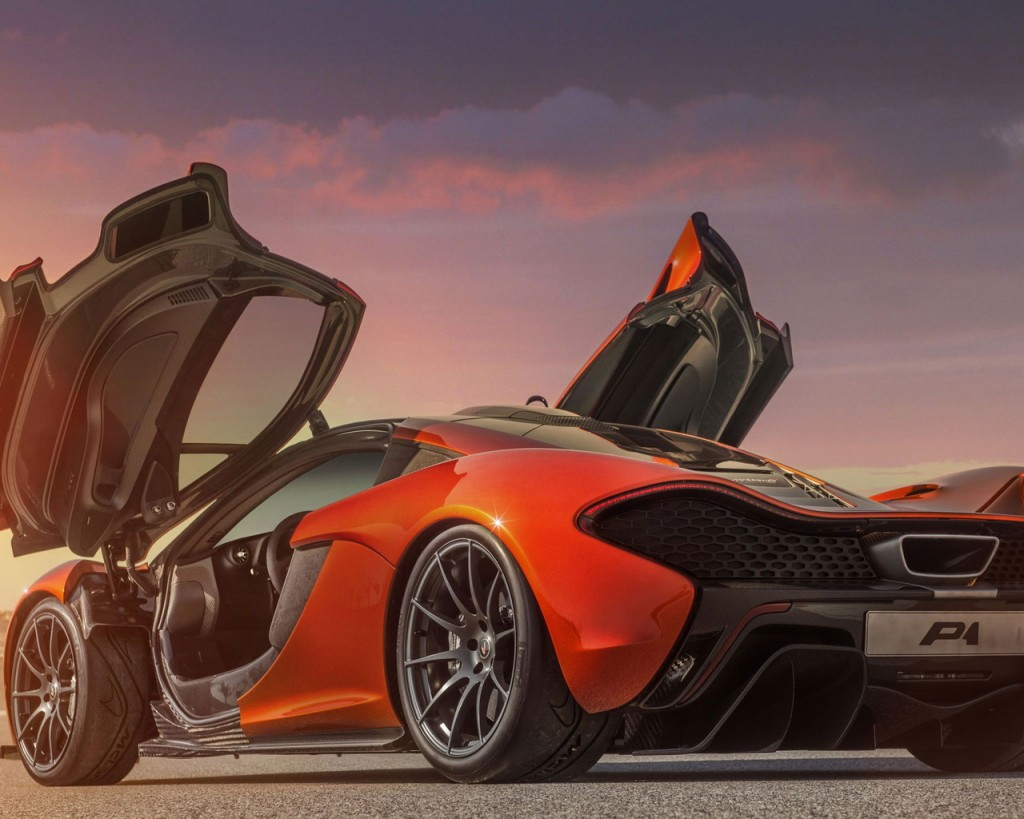 Modified Mclaren P1 HD Wallpaper