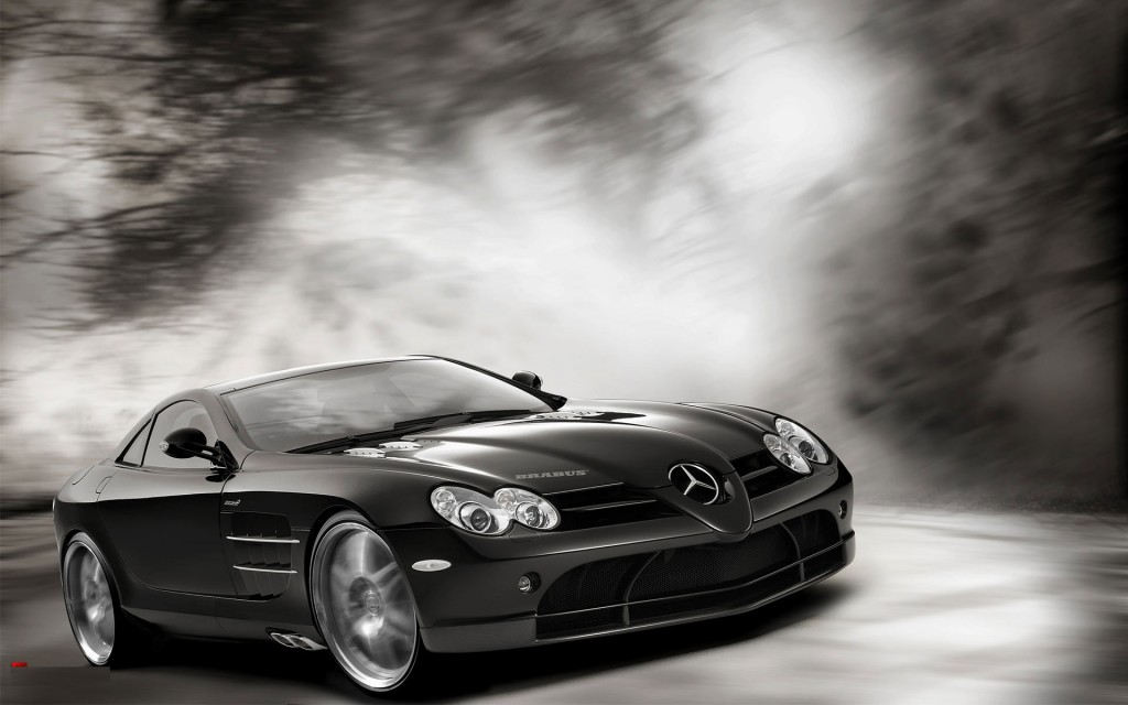 Modified Mercedes Slr HD Wallpaper