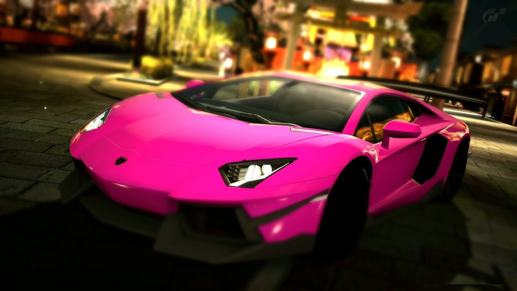 Pink Lamborghini Aventador HD Wallpaper