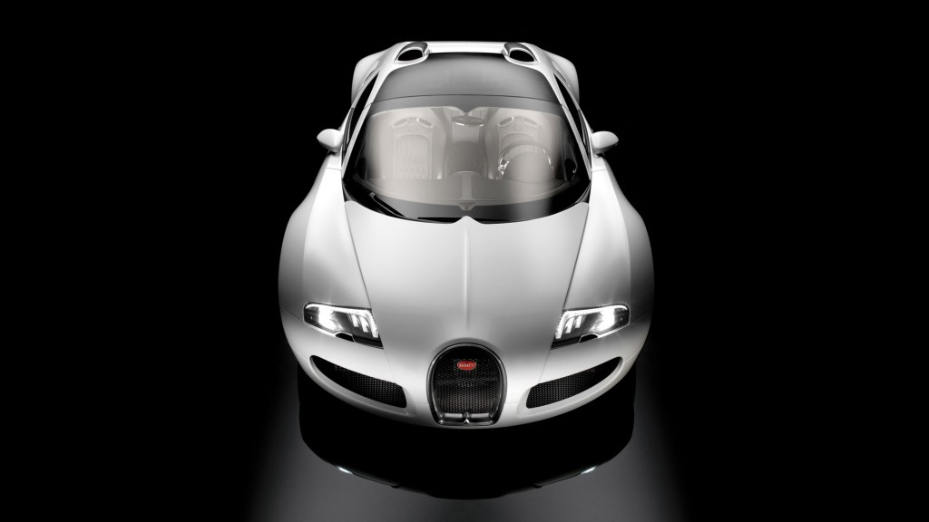 Silver Bugatti Veyron Car HD Wallpaper