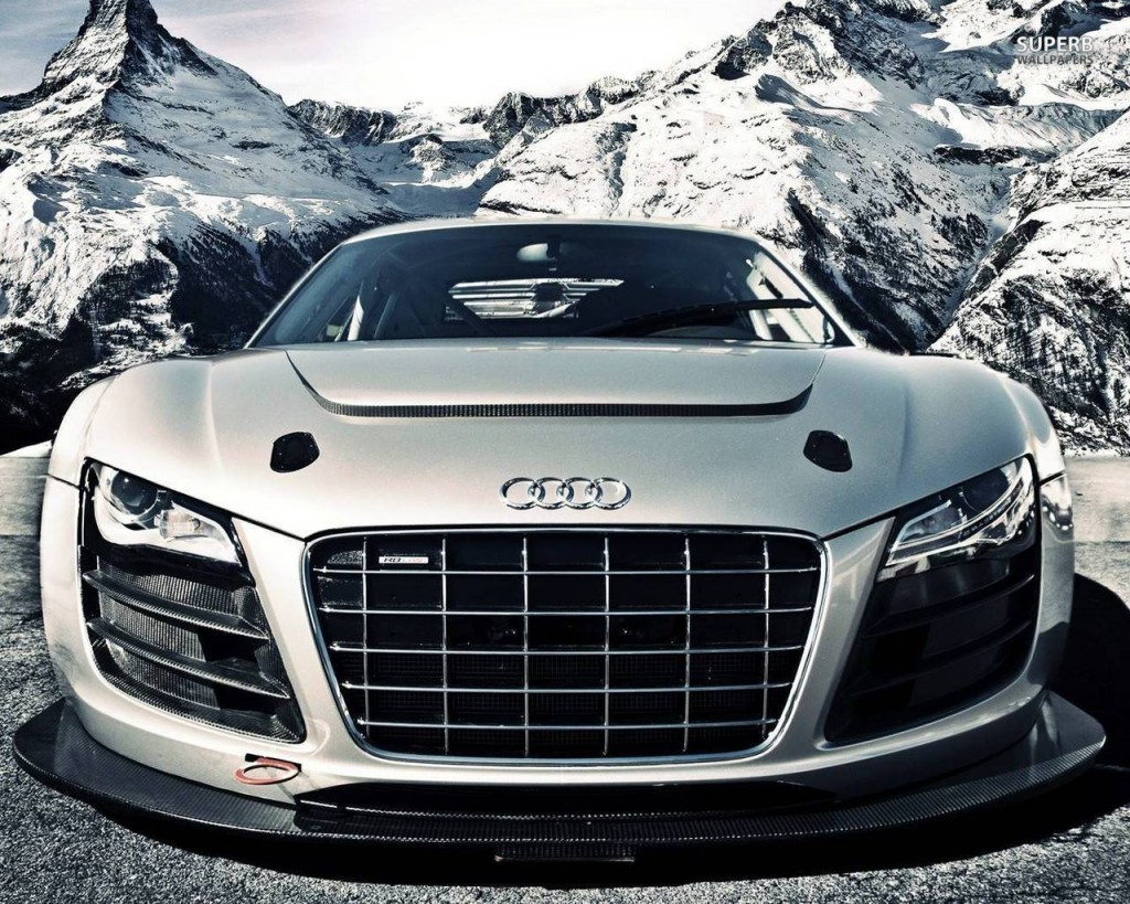 White Audi R8 - HD Wallpaper