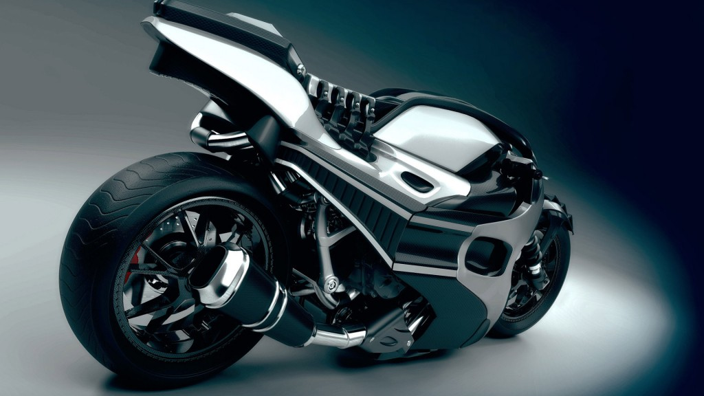 Black BMW Sports Bike HD Wallpaper