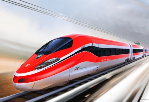 Bullet Red Train