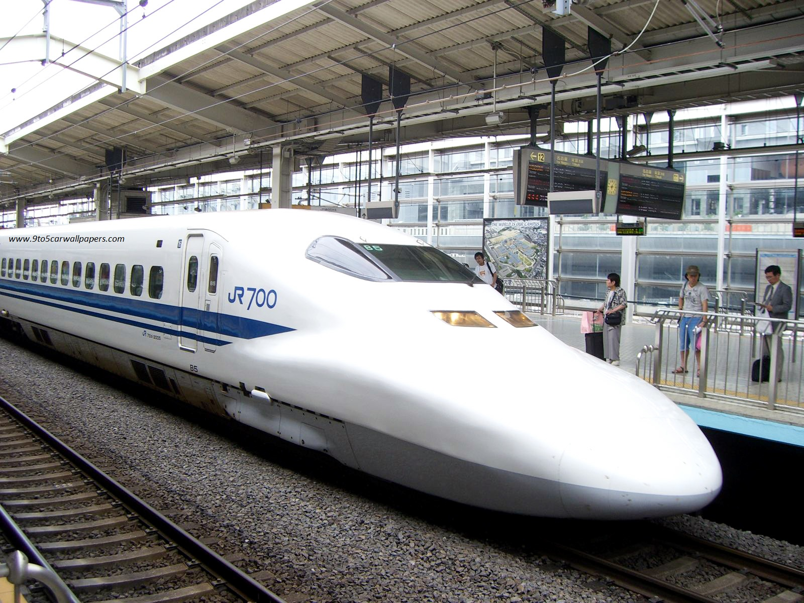 Bullet Train HD Wallpaper - My Site