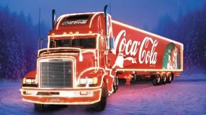 Coca Cola Truck HD Wallpaper