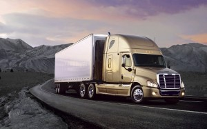 download Freightliner Cascadia Truck HD Wallpapers
