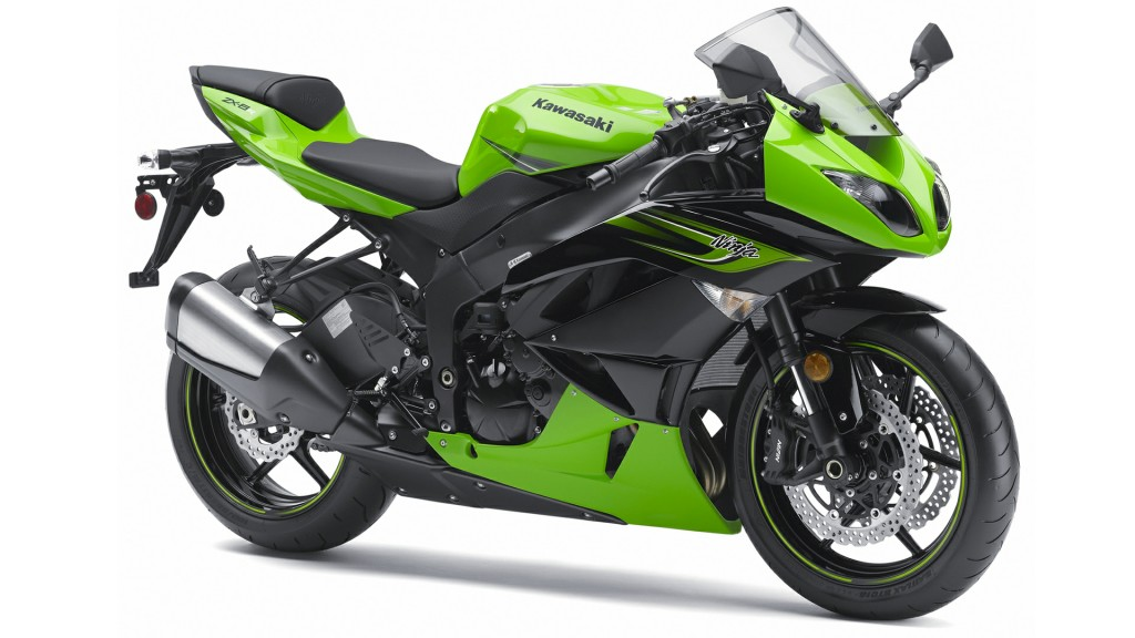 Green Kawasaki Ninja HD Wallpaper