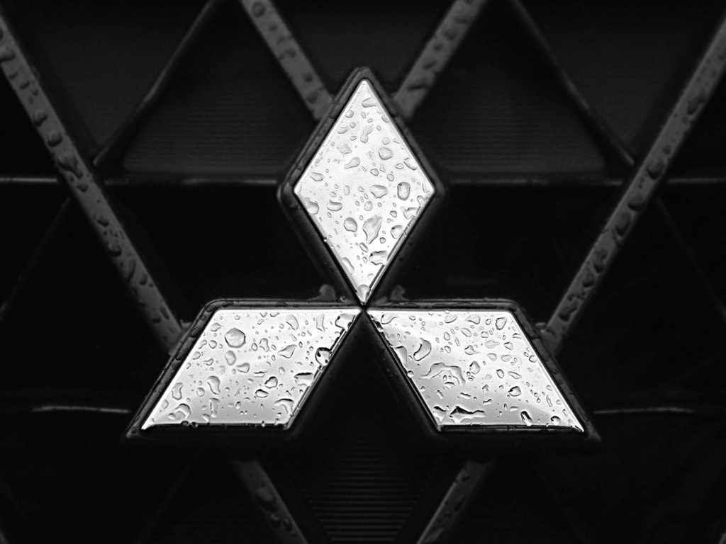 Mitsubishi Car Logo HD Wallpaper