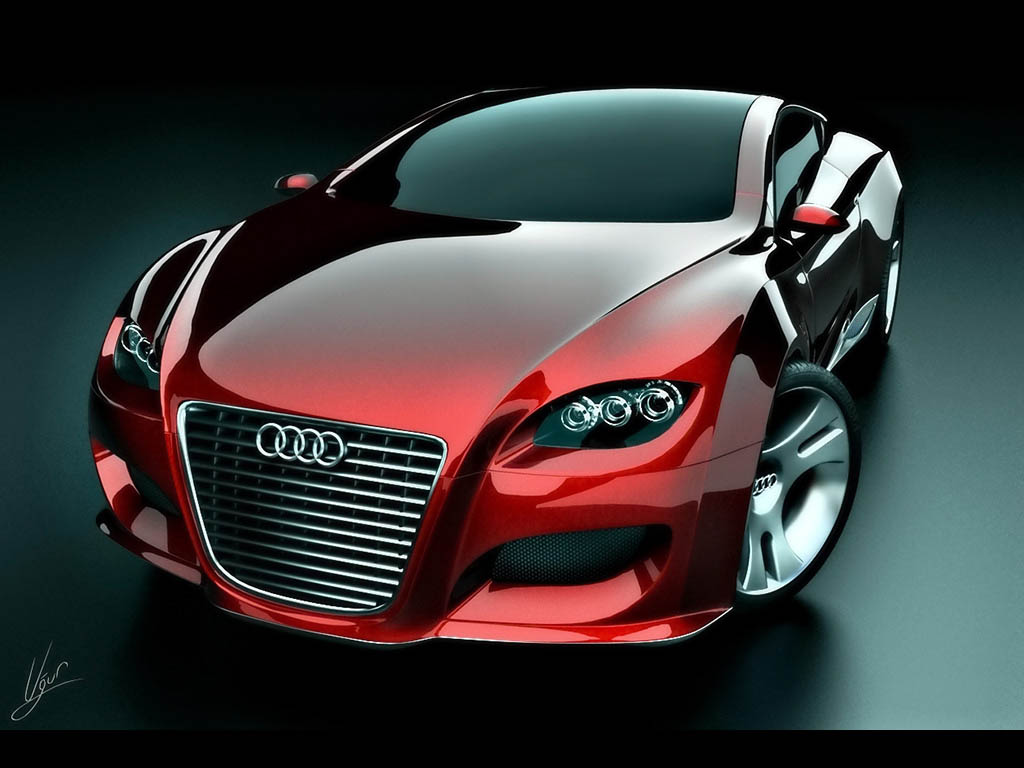 Red Audi R8 HD Wallpaper