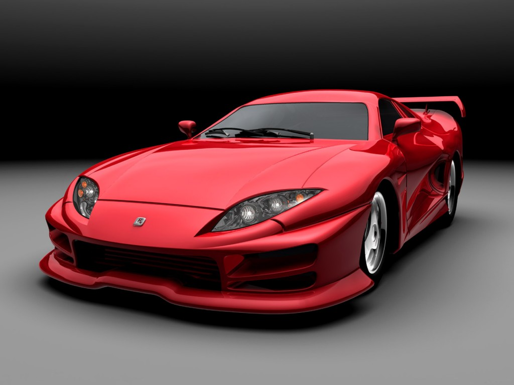 Red Ferrari HD Wallpaper
