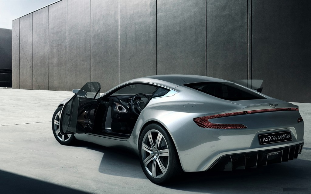 Silver Aston Martin 2010 HD Wallpaper