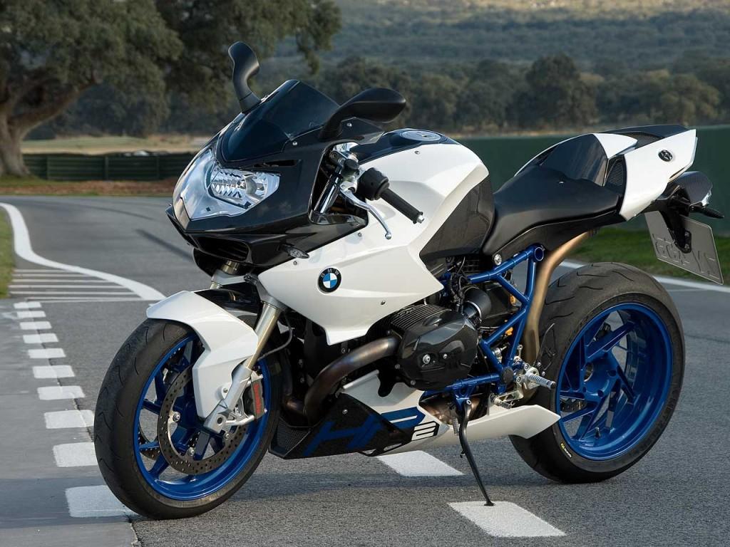 White BMW Bike HD Wallpaper