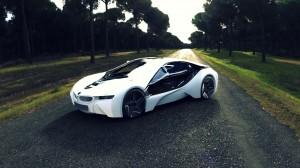 White Beautifull Sports Car HD Wallpaper