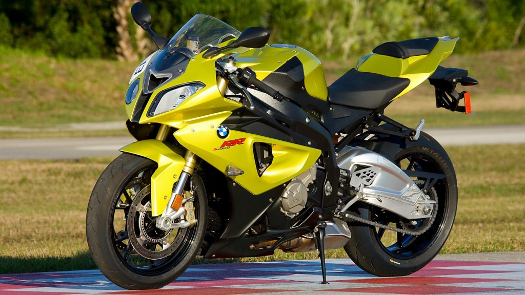 Yellow BMW Bike HD Wallpaper