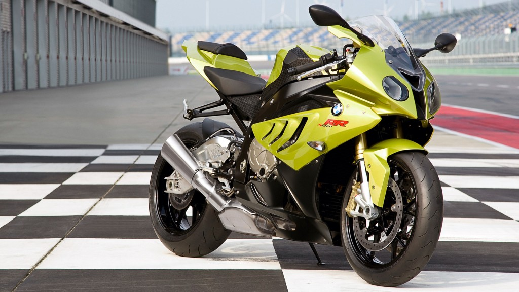 Yellow Bmw Sports Bike HD Wallpaper
