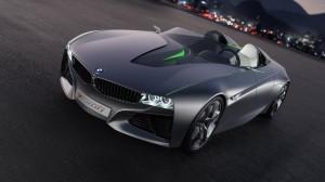 Black Modified Racing Car