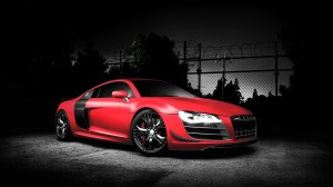 Audi Car Wallpaper Red