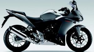 Black Honda CBR 500 HD Wallpaper