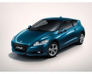Blue Honda CRZ HD Wallpaper