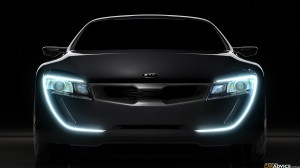 KIA Sports Car HD Wallpaper