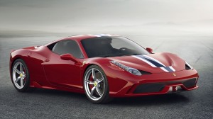 Red Car Aerodynamic Wallpapers