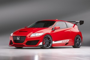 Red Honda CRZ Wallpaper