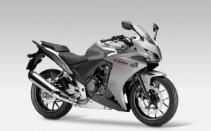 Silver Honda CBR HD Wallpaper