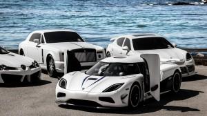 Sports Car Race Near Sea Wallpapers